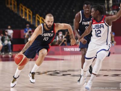 "Basket, Olimpiadi Tokyo. Evan Fournier: ""Orgoglioso di questa squadra"""
