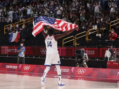 VIDEO Stati Uniti-Francia 87-82, Finale basket Olimpiadi: highlights e sintesi