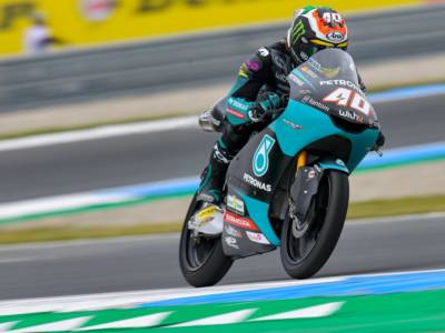 Moto3, risultati FP2 GP Stiria: Binder al comando, molto bene gli italiani