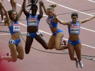 Atletica, la 4×100 femminile firma il record italiano. Finale alle Olimpiadi sfumata per un soffio