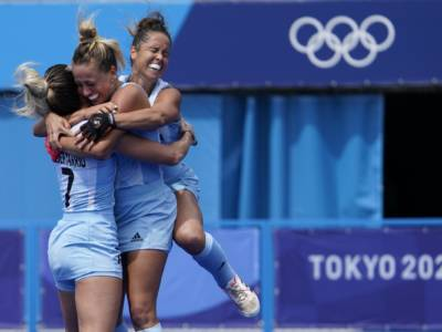 Hockey prato, Olimpiadi Tokyo: l'Argentina piega l'India e vola nella finale femminile del torneo
