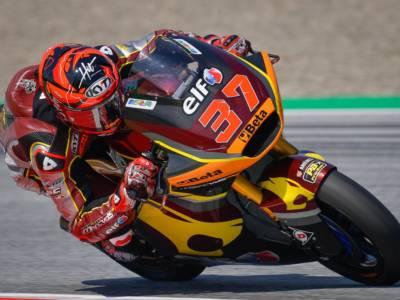 Moto2, Augusto Fernandez si conferma il migliore nella FP2, Gardner 2°. Bene Celestino Vietti 5°