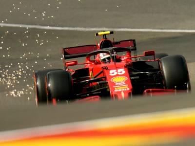 DIRETTA F1, GP Spa LIVE: Sainz 14° e Leclerc 16° nella FP3 bagnata, uno-due Red Bull davanti