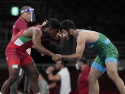 Lotta, Olimpiadi Tokyo: sfuma il sogno d'oro di Frank Chamizo. Domani si giocherà il bronzo nei 74 kg