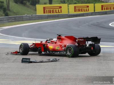F1, ko la Power Unit di Charles Leclerc dopo l'incidente con Lance Stroll, il monegasco dovrà sostituirla