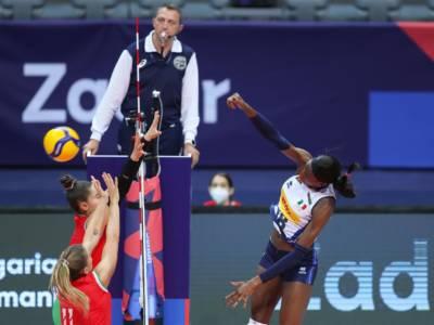 Italia-Croazia oggi, Europei volley femminile: orario, tv, programma, streaming