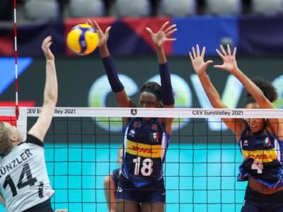 Volley femminile, Europei 2021. En plein azzurro nel girone: battuta 3-0 anche la Svizzera con qualche patema