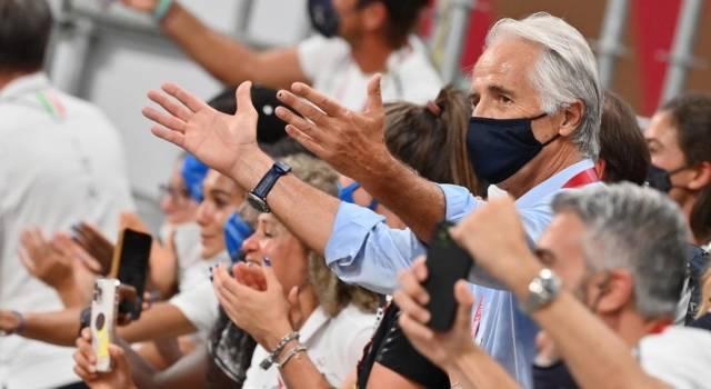 """Olimpiadi Tokyo, Giovanni Malagò si congratula con Abraham Conyedo: """"Un bronzo che vale!"""""""