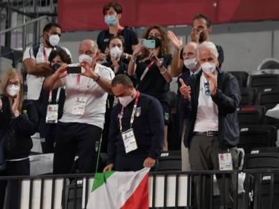"""Olimpiadi Tokyo, Giovanni Malagò commenta entusiasta per l'oro del ciclismo su pista: """"Più veloci della luce, più forti di tutto"""""""