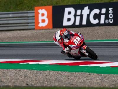 Moto3, risultati FP3 GP Austria 2021: Izan Guevara piazza la sorpresa in una sessione vibrante, fuori dalla top 14 Migno e Nepa