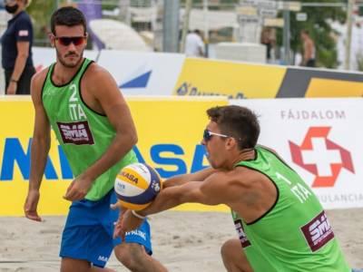 Beach volley, World Tour 2021 Budapest. Che Italia sul Danubio: They/Breidenbach e Marchetto/Dal Corso sono in finale!