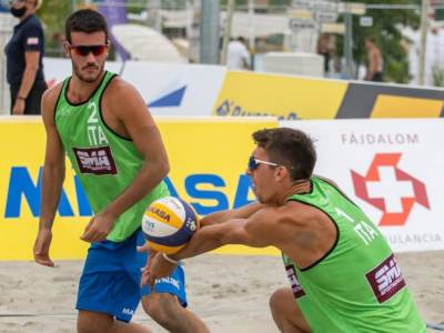 Beach volley, World Tour 2021 Budapest. Azzurri avanti tutta nella prima giornata!
