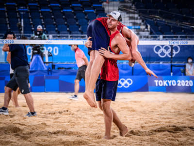 Beach volley, Olimpiadi Tokyo. Mol/Sorum-Krasilnikov/Stoyanovskiy: la finale più attesa per il torneo maschile