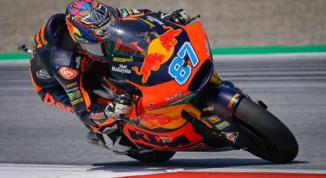Moto2, risultato FP2 GP Aragon: Remy Gardner svetta in classifica, quarto posto per Di Giannantonio