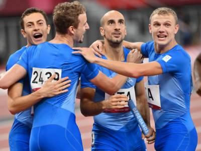 """Atletica, 4×400, le dichiarazioni di Sibilio, Aceti, Scotti e Re: """"In finale vogliamo ancora il record italiano e poi…"""""""