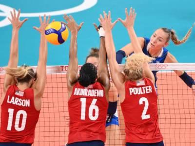 VIDEO – Volley femminile, Olimpiadi Tokyo: USA-Brasile 3-0. Le americane vincono l'oro annichilendo le rivali