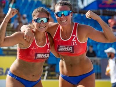 Beach volley, World Tour Budapest 2021: trionfo azzurro con Chiara They e Sara Breidenbach! Secondo posto per Dal Corso/Marchetto