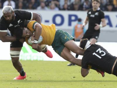 Rugby Championship: Australia-Nuova Zelanda si gioca il 5 settembre