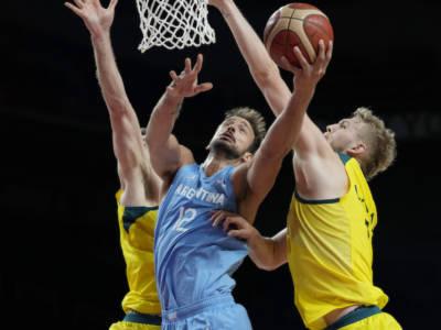 Basket, Olimpiadi Tokyo: l'Australia domina l'Argentina e vola in semifinale
