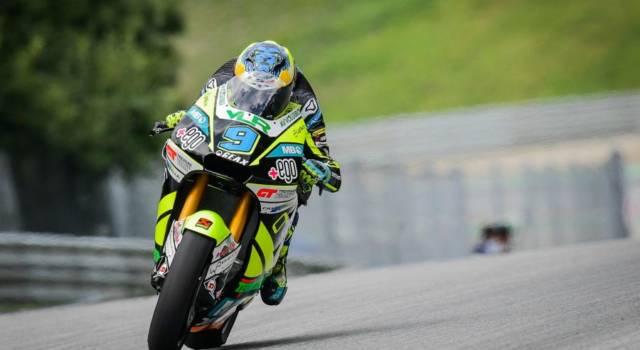 Moto2, risultati FP1 GP Aragon: Navarro al comando, terzo Bezzecchi