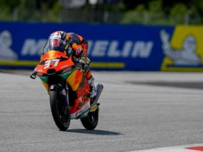 LIVE Moto3, GP Austria 2021: arriva la pioggia e la FP2 va in archivio, i tempi rimangono quelli della mattinata