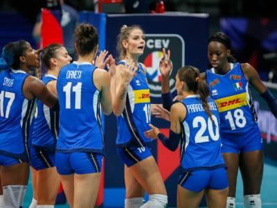 Volley, Italia-Belgio 3-1: le azzurre volano ai quarti degli Europei. Egonu 27 punti, ora la Russia?