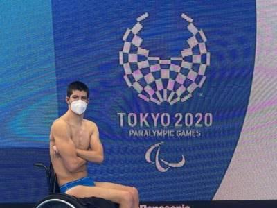 Nuoto, Paralimpiadi Tokyo: Luigi Beggiato conquista la medaglia di bronzo nei 50sl S4!
