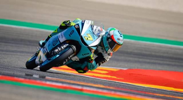 """Moto3, Dennis Foggia: """"Sono veramente molto contento, credo ancora nel titolo. Volevo vincere, dedico il successo a mio padre"""""""