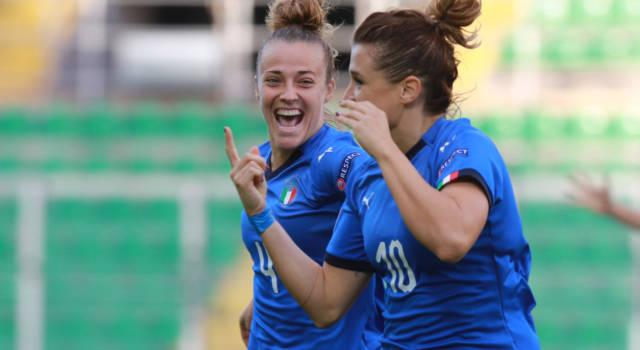 LIVE Croazia-Italia 0-5 calcio femminile in DIRETTA: vincono le azzurre con una goleada. Pagelle e highlights
