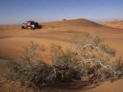 Dakar, test per Audi in vista dell'edizione 2022