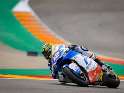 Moto2, risultato FP1 GP San Marino 2021: Luthi detta il passo sul bagnato davanti a Bezzecchi