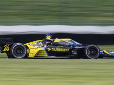IndyCar, Laguna Seca: Herta torna nella victory lane, Palou si avvicina al titolo