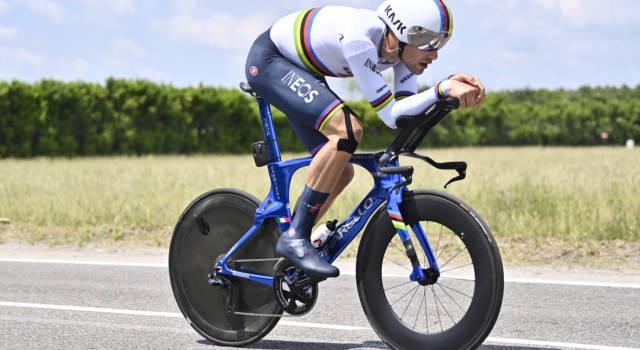 Ordine d'arrivo cronometro Mondiali ciclismo 2021: risultato e classifica. Bis di Filippo Ganna!