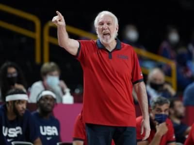 Basket: Gregg Popovich saluta Team USA, il sostituto entro un mese