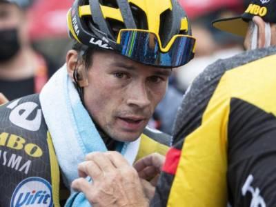 """Vuelta a España 2021, Primoz Roglic: """"Èstata estremamente dura per me. Ci sono ancora tappe difficili"""""""