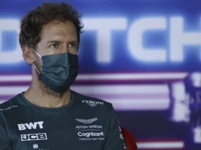"F1, Sebastian Vettel: ""Qualifying Race rovinata in partenza, domani cercherò qualche punto"""