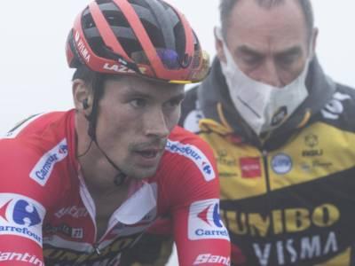 Classifica Vuelta a España, 20ma tappa: Roglic amministra, crolla Bernal, si ritira Lopez. Fabio Aru a quasi 3 ore