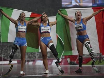 Paralimpiadi, tutti i podi e le finali di oggi (4 settembre): tripletta azzurra nei 100 metri T63 femminile!