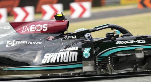 Ordine d'arrivo qualifica sprint F1 Monza: risultato e distacchi. Vince Bottas, Verstappen 2°, Hamilton 5° e Leclerc 6°