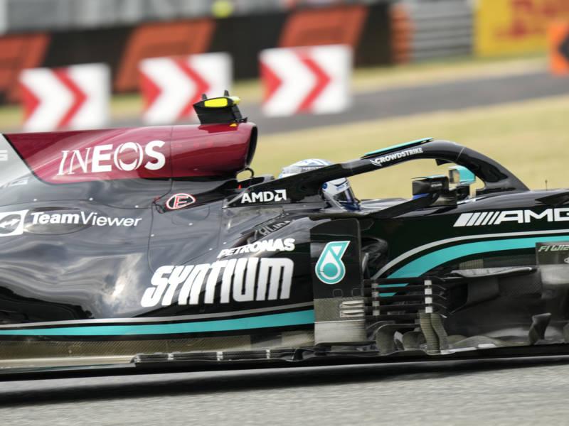 F1, sostituzione del motore endotermico sulla Mercedes di Valtteri Bottas: cinque posizioni di penalità