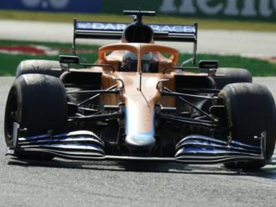F1, doppietta McLaren a Monza nel giorno dell'incidente tra Verstappen e Hamilton