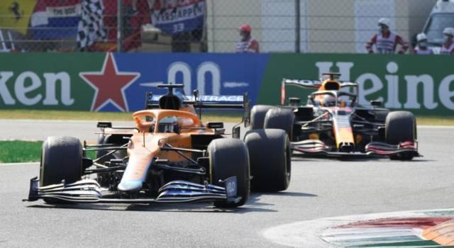 Ordine d'arrivo F1, GP Italia: Ricciardo vince a Monza! Incidente Verstappen-Hamilton. Leclerc 4°
