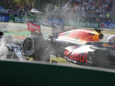 F1, GP Italia 2021: nuovo ordine d'arrivo dopo la penalizzazione di Verstappen. Cosa cambia con l'incidente