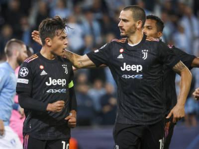 VIDEO Malmoe-Juventus 0-3, gol Champions League: highlights e sintesi. I bianconeri calano il tris nel primo tempo
