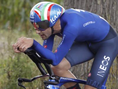 """Filippo Ganna: """"Pensavo a vincere e tenere la maglia arcobaleno. I belgi mi hanno stimolato"""""""