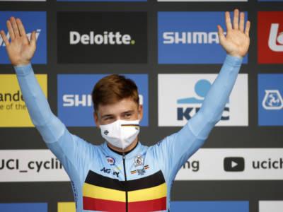 """Mondiali ciclismo 2021, Remco Evenepoel: """"Ho fatto un'ottima cronometro, era il massimo che potevo fare"""""""