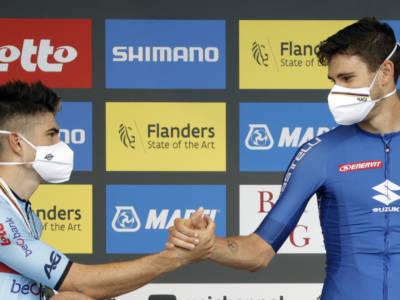 Ciclismo, Wout Van Aert stratosferico in una crono non favorevole. Sarà l'uomo da battere nel Mondiale in linea