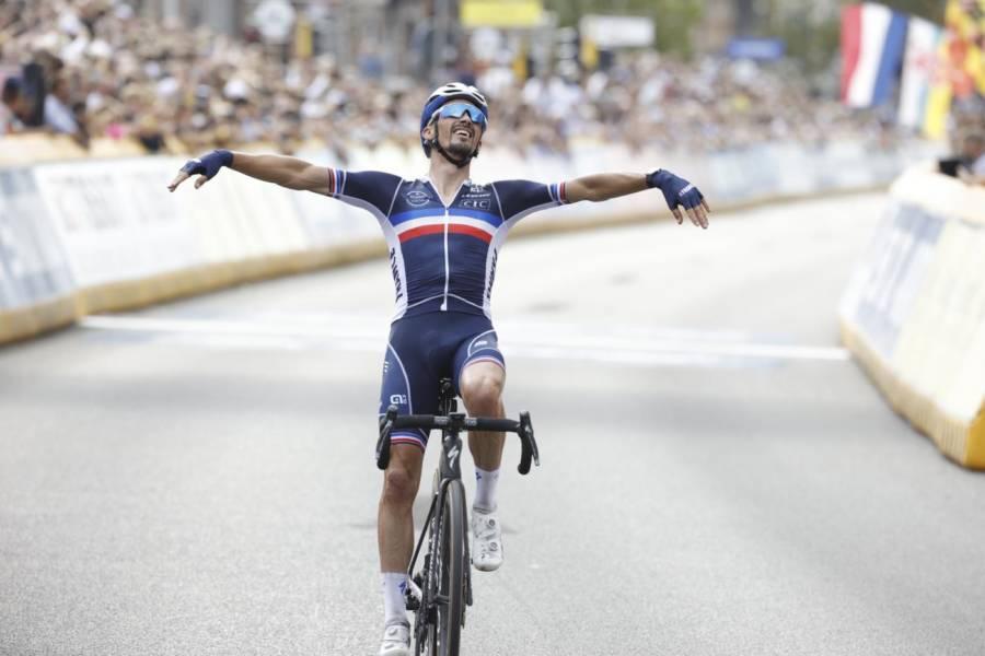 Ciclismo, Julian Alaphilippe una spanna sopra tutti. Ora va a caccia del record di Sagan, Binda, Merckx, Van ...