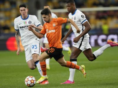 Shakhtar Donetsk-Inter 0-0, Champions League: Dzeko e Lautaro sprecano, primo punto per i nerazzurri