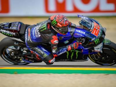 MotoGP, Fabio Quartararo detta legge nelle FP3 ad Aragon. 4° Bagnaia, Valentino Rossi in Q1